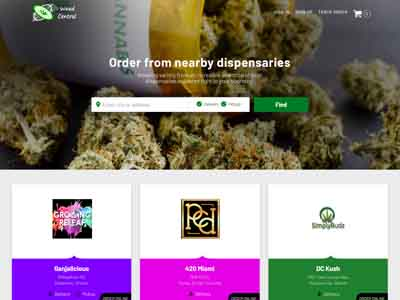 www.weedcentral.delivery